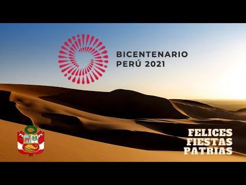 Bicentenario 2021 - Felices Fiestas Patrias