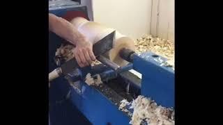 Точение изделий из дерева на токарном станке