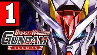 Dynasty Warriors GUNDAM REBORN Walkthrough Part 1 Gameplay Lets Play [HD] PS3