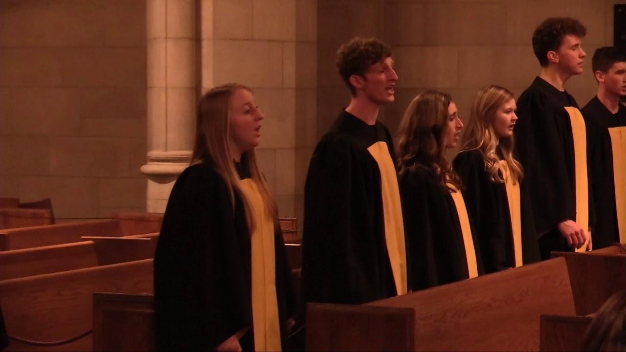Amazing Grace - Marianne Forman - ed  Dan Forrest - CovenantCHOIRS - Fourth  Presbyterian Chicago