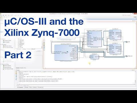 2/3] Using µC/OS-III on the Xilinx Zynq-7000 - YouTube