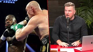Pat McAfee Reacts To Tyson Fury's Win Over Deontay Wilder