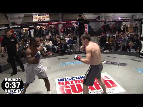 NASTY KO-Aaron Drouse (Unified Martial Arts-Fond Du Lac, WI) Vs. Jon Brown (Ind.-Milwaukee, WI)