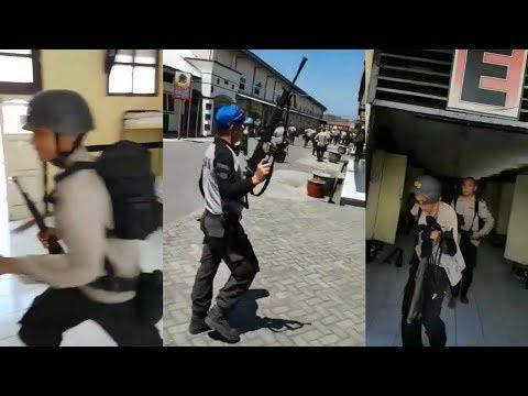 Para Personel Polisi Lari Terbirit-birit Dengar Alarm PLB! Sampai Ada yang tak Bercelana!