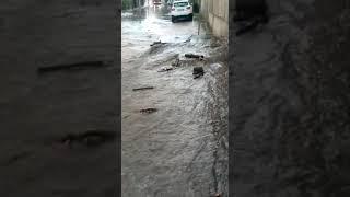 Dopo la tempesta d'acqua a Rio Vivo