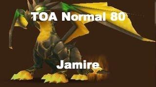 Summoners War - TOA Normal 80 Jamire com monstros farmaveis
