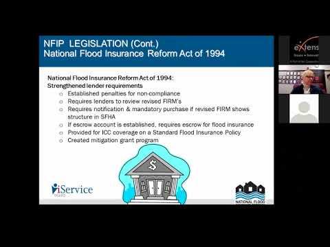 Basics Of The National Flood Insurance Program