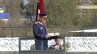Следователи Удмуртии почтили память погибших в Великой Отечественной войне минутой молчания