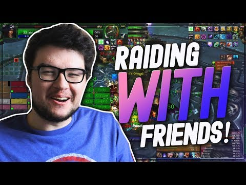 DYRUS | Chilling and Raiding with Friends in WoW