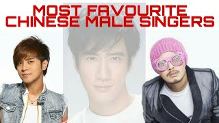 TOP 10 MOST FAVOURITE CHINESE MALE SINGER 2019