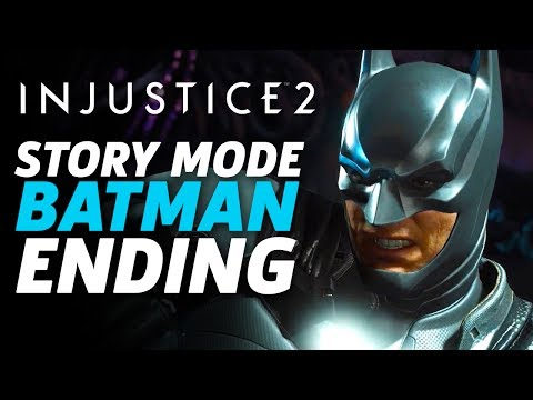 Injustice 2 Story Mode - Batman Ending