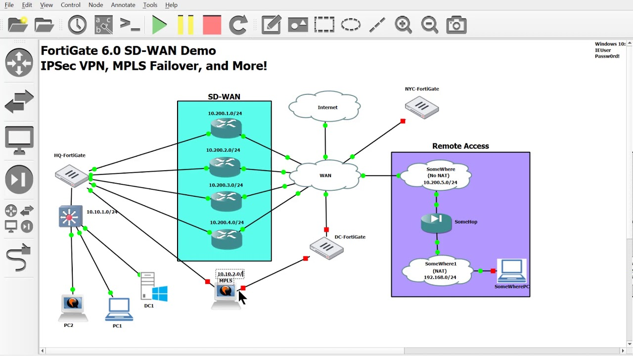 1 Building An Sd Wan Topology For Testing In Gns3 Part 1 Youtube