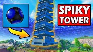 SPIKY STADIUM TOWER! *CRAZY* NEW ITEM! Fortnite Battle Royale Update!