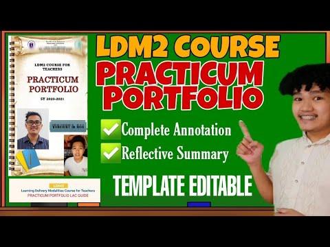 Download PRACTICUM PORTFOLIO | LDM2 | COMPLETE ANNOTATION | REFLECTIVE SUMMARY | SDO MANILA | Titser Dig