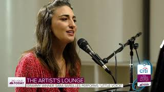 Sara Bareilles Performs 'Little Voice' On Today