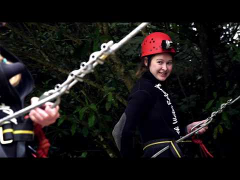 Black Water Rafting- The Black Abyss - Video