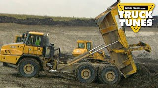 Dump Truck for Children | Truck Tunes for Kids | Twenty Trucks Channel