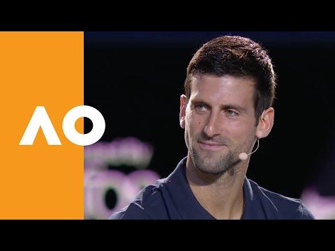 Novak Djokovic Live From The AO2020 Draw   Australian Open 2020