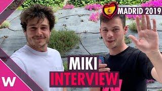 "Download Video Miki ""La venda"" (Spain 2019) Interview @ #PrePartyES Eurovision Party Madrid MP3 3GP MP4"