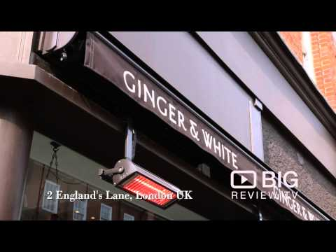 Ginger and White Coffee Shop in Camden London serving the best Coffee, Sandwich and Cakes