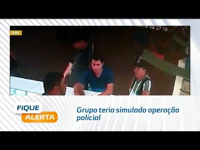 Grupo teria simulado operação policial na 'Feira do Rato'