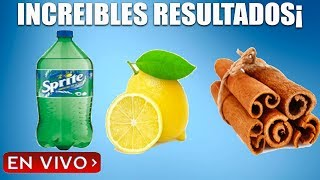 Haga esto para duplicar su energía durante 1 horas mas-Por qué Sprite con limón es bueno en hombres.