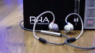 RHA T10i Premium Moulded Steel Earphones Review