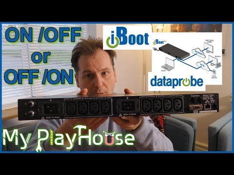 iBootBar from Dataprobe, Reset Password and Introduction - 607