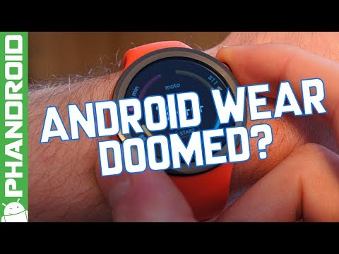 Is Android Wear doomed?