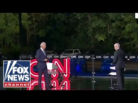 Did Biden, Anderson Cooper break social distancing rules? 'The Five' weighs in