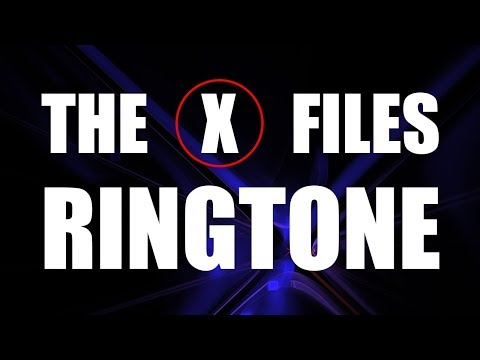 The X-Files Ringtone and Alert
