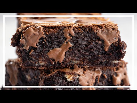 BEST EVER FUDGY BROWNIES RECIPE ��✅ Gluten free + Low FODMAP