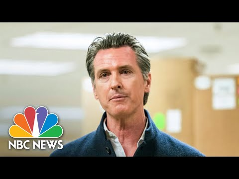 California Gov. Newsom Gives Coronavirus Updates | NBC News (Live Stream Recording)