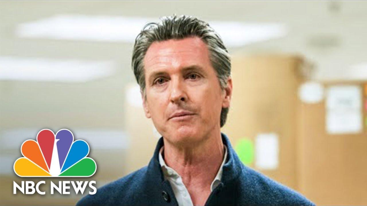 California Gov. Newsom Gives Coronavirus Updates   NBC News (Live Stream Recording) MyTub.uz