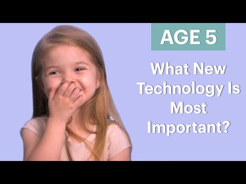 70 People Ages 5-75 Answer: What New Technology Is Most Important? | Glamour