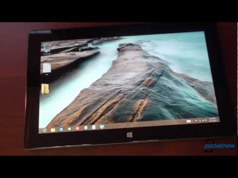 Windows 8 RT Walkthrough and Explanation