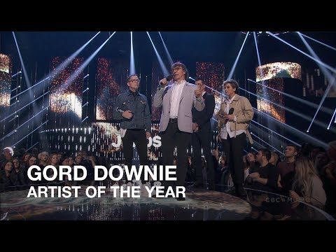 Gord Downie   Artist of the Year   Juno Awards 2018