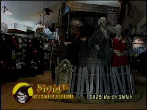 spirit halloween superstore fayetteville arkansas tv ad 2008 youtube - Halloween Stores In Fayetteville Ar