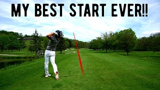 18 HOLES AT HUNT VALLEY | My Best Start EVER?? | Crazy Elevation Changes!! |