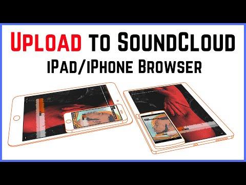 Upload to Soundcloud from iOS (iPhone/iPad/GarageBand) using Google Chrome
