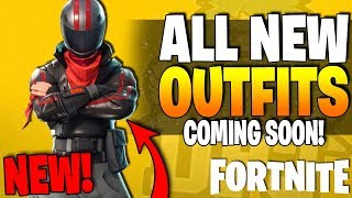 *NEW* Fortnite - ALL NEW OUTFITS & PICKAXES !! - Rex Outfit, Burnout, Empire Pickaxe & More (LEAKED)