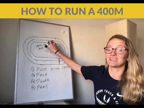 Track and Field Tips: How to run the 400m