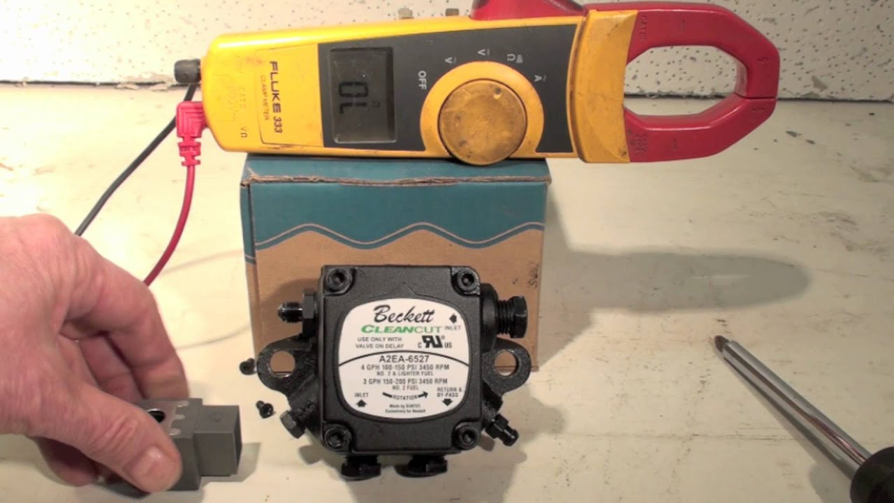 hight resolution of pump mounted oil burner solenoid