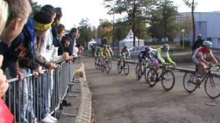Partie 1 : Manche challenge national cyclo-cross cadets à Saverne le 31-10-10