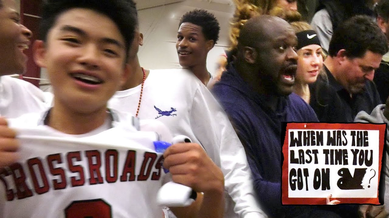 yuuki-okubo-saves-game-with-shaq-watching-crowd-storms-court-crossroads-rivalry-game-vs-brentwood