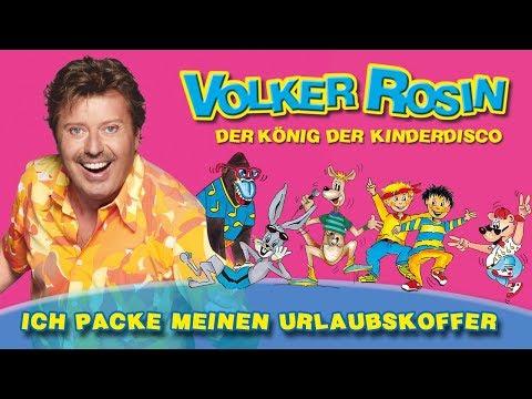 Volker Rosin - Ich packe meinen Urlaubskoffer | Kinderlieder