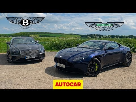 Bentley Continental GT vs Aston Martin DB11 AMR | Two great GT cars reviewed | Autocar