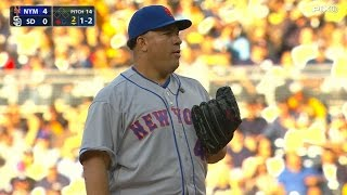 NYM@SD: Colon fans five, hits first homer in Mets win