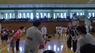 女子団体戦  大阪大学 大阪国際大学短期大学部 1