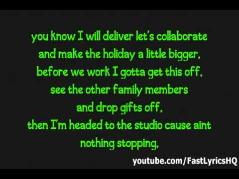 Justin Bieber ft Busta Rhymes - Drummer Boy (Lyrics on Screen) image